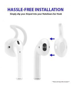 Apple Ear Cover Ear Hook for Apple Airpods Headset 3 Pair Anti-Slip -Not For Airpod Pro