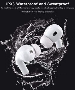 Wireless Earbuds, Bluetooth 5.0 Headphone, with 24h Charge Case, Touch Control