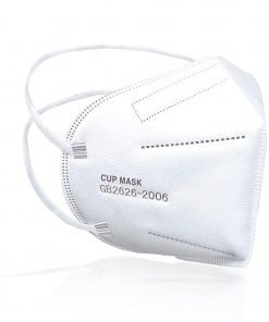 5 Layer Protective Face Mask With Head and Neck Elastic Loop 10 Pack